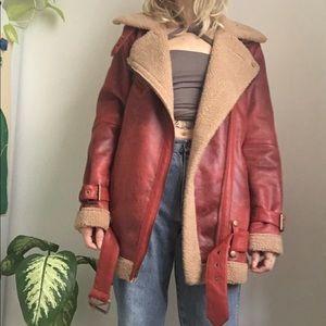 Oversized Moto Inspired Coat